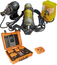 Дыхательный аппарат на сжатом воздухе ПТС Профи МТ