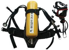 Дыхательный аппарат со сжатым воздухом ПТС Спасатель