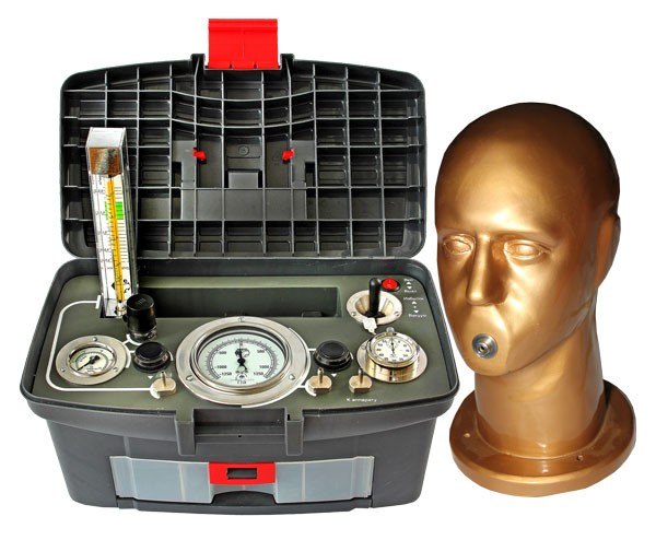 Система контроля дыхательных аппаратов со сжатым кислородом ОКСИ ТЕСТ