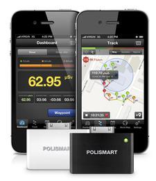 Сигнализатор индикатор гамма излучения для iPhone POLISMART II PM1904