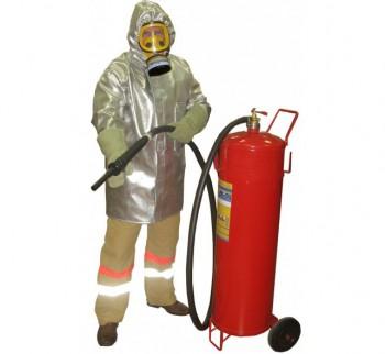 Плащ метализированный пожарного добровольца КЗЭПД ШАНС Д