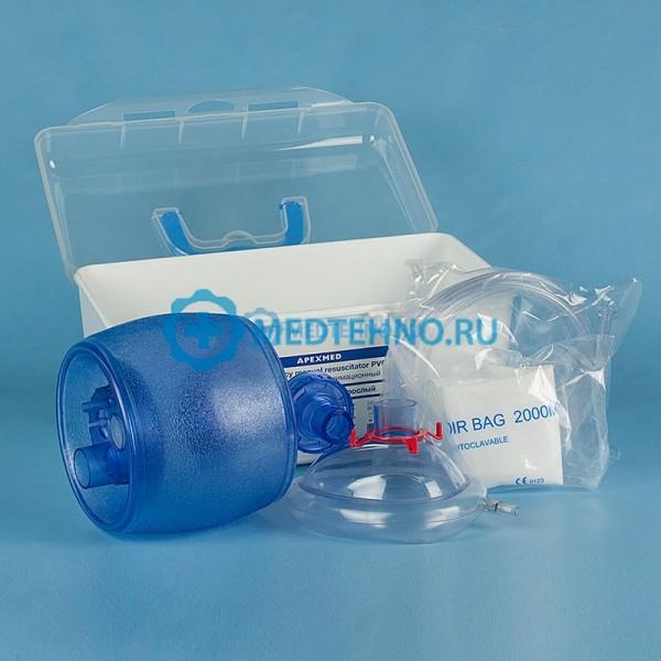 Мешок дыхательный реанимационный Apexmed типа Амбу