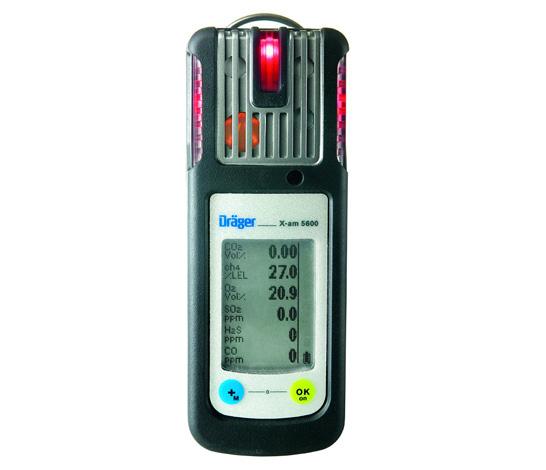 Водонепроницаемый детектор газов Drager X аm 5600