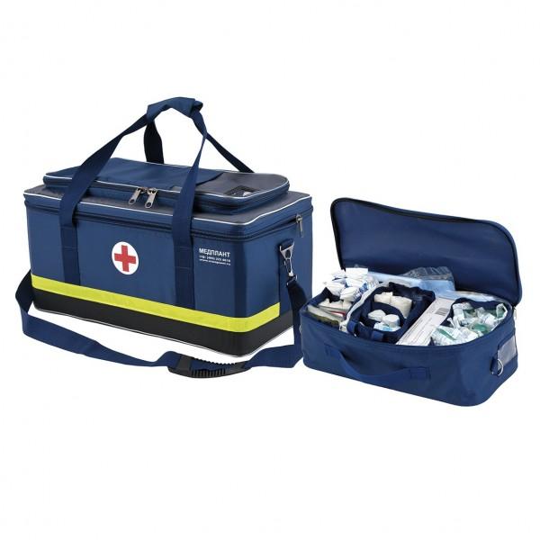 Укладка для оказания скорой медицинской помощи в сумке СР3