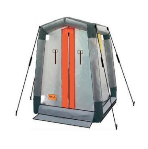 Дегазационно душевая кабина без комплекта нагрева и подготовки растворов