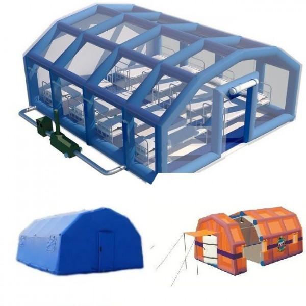 Пневмокаркасные модули и палатки